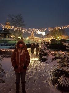 Ellen en Kerstmarkt